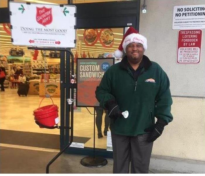 Water Damage SERVPRO of Lodi Supports The Salvation Army