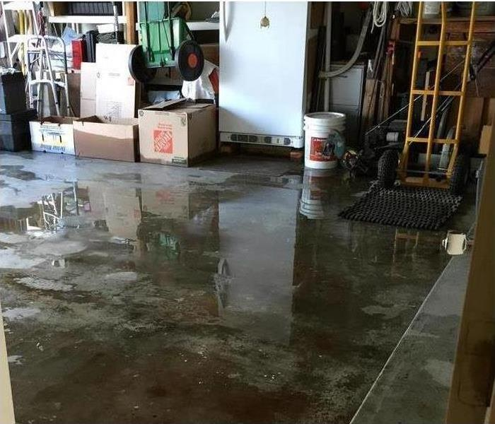 Water Damage Flooded Home in Lodi CA