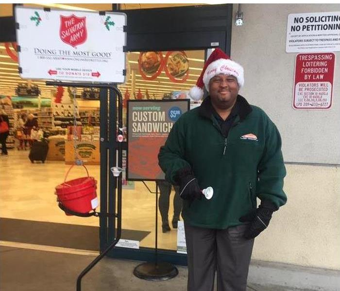 Water Damage SERVPRO of LODI Supports the Local Salvation Army